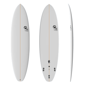 Tabla Surf Full & Cas Evo 7'0 Blanca