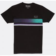 Camiseta Billabong Team Stripe Tee Negra