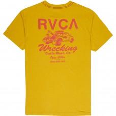 Camiseta RVCA Wrecking Amarilla
