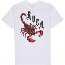 Camiseta RVCA Scorpio Blanca
