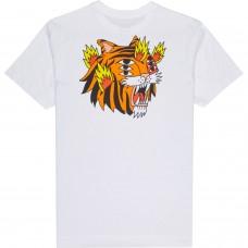 Camiseta RVCA Cavolo Tigger Blanca
