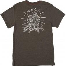 Camiseta RVCA Camp Harmony Gris