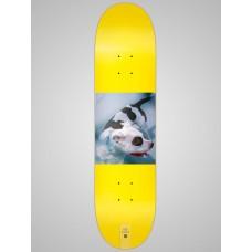 Tabla Skate Habitat Gamma Series Amarilla 8.2''