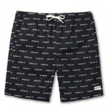 Pantalones Cortos Huf Fuck It Negros