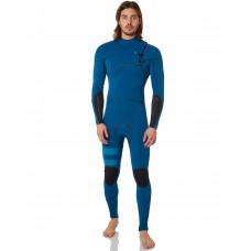 Traje de neopreno Hurley ADvantage Max 2mm zipless azul