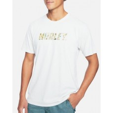 Camiseta Manga Corta Hurley Dri Fit Fastlane Light Bone