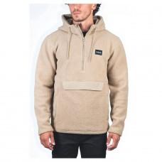 Forro Polar Hurley Anorak Sherpa Fleece Khaki