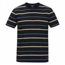 Camiseta Manga Corta Hurley Dri Fit Harvey Stripe Patch