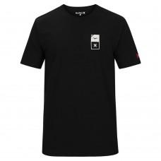 Camiseta Manga Corta Hurley JJF Essentials Negra