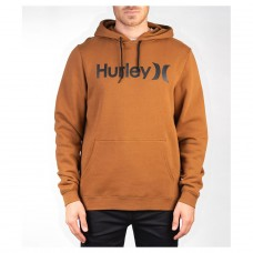 Sudadera Hurley One & Only Pullover Marrón