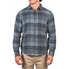 Camisa Manga Larga Hurley Portland Flannel Gris
