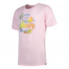 Camiseta Manga Corta Hurley Retro Beach Rosa