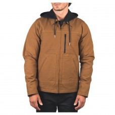 Chaqueta Hurley Work Trucker Jacket Marrón