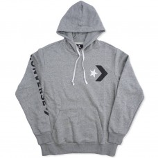 Sudadera Converse Star Chevron Graphic Gris