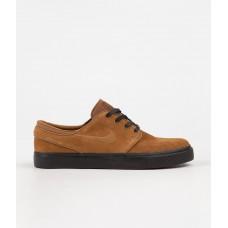 Zapatillas Nike SB Stefan Janoski Marrones Negras