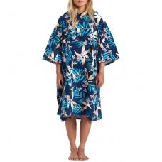 Poncho Surf Billabong Hooded Towel Iris