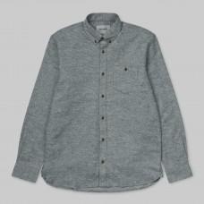 Camisa Manga Larga Carhartt L/S Cram Shirt Dark Fir
