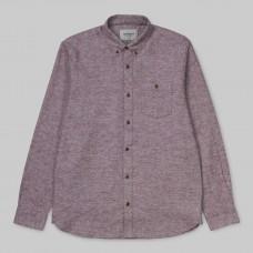 Camisa Manga Larga Carhartt L/S Cram Shirt Merlot