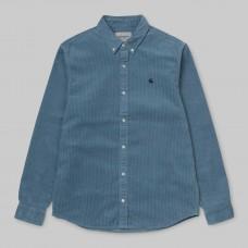 Camisa Manga Larga Carhartt L/S Madison Cord Azul