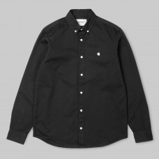 Camisa Manga Larga Carhartt L/S Madison Shirt Negra