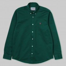 Camisa Manga Larga Carhartt L/S Madison Shirt Verde