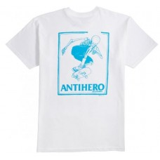 Camisetas Manga Corta Anti Hero Lance Series Blanca
