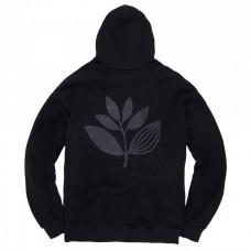 Sudadera Magenta Plant Outline Negra