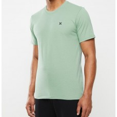 Camiseta Manga Corta Hurley Staple Icon Verde
