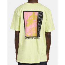 Camiseta Manga Corta RVCA Monolith Lima