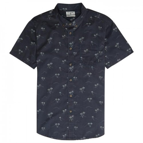 Camisa Manga Corta Billabong Sundays Mini Dark Royal
