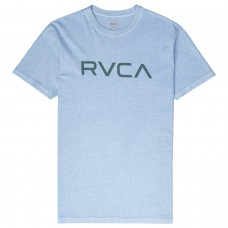 Camiseta Manga Corta RVCA Big Logo Ether Blue