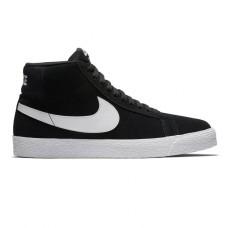 Zapatillas Nike SB Blazer Mid Negras Blancas