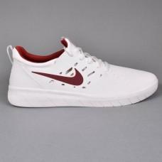 Zapatillas Nike SB Nyjah Free Blancas Granates