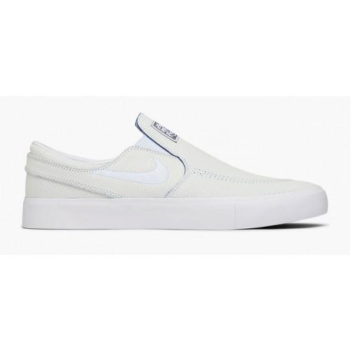 Zapatillas Nike SB Zoom Janoski Slip RM PRM Blancas