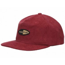 Gorra Passport Pharmy Granate