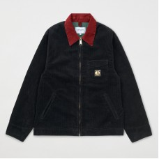 Chaqueta Carhartt x Pass Port Black Rinsed