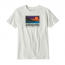Camiseta Patagonia UP & Out Blanca