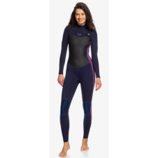 Traje Neopreno Roxy Performance 4'3 Chest Zip Lila 2020