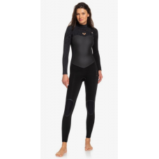 Traje Neopreno Roxy Performance 4'3 Chest Zip Negro 2020
