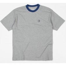 Camiseta Manga Corta Polar Ringer Gris