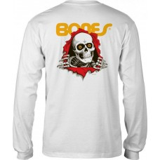 Camiseta Manga Larga Powell Peralta Ripper Blanca