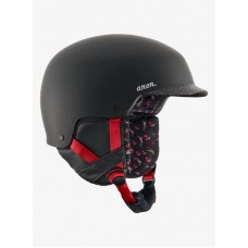 Casco Snowboard Chica Anon Aera Black Cherry