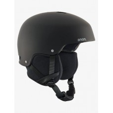 Casco Snowboard Anon Striker Black - Negro