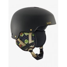 Casco Snowboard Anon Striker Circle Camo Black - Negro Camo