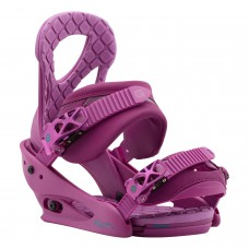 Fijaciones Snowboard Chica Burton Stiletto Hot Purple