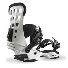 Fijaciones Snowboard Union Atlas White Matte - Blanca