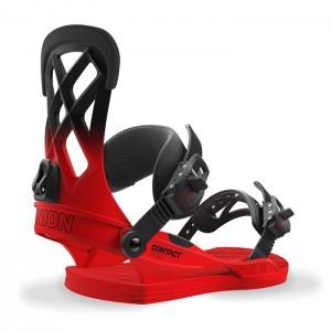 Fijaciones Snowboard Union Contact Pro Roja