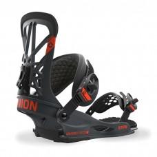 Fijaciones Snowboard Union Flite Pro Dark Grey - Gris Oscuro