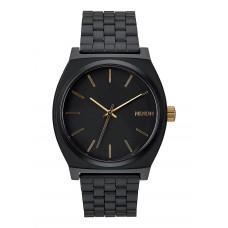 Reloj Nixon Time Teller Negro Oro