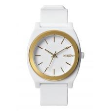 Reloj Nixon Time Teller Blanco Oro